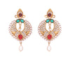 Asmitta Jewellery Multicolor Zinc Dangle Earring - ED107