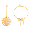 Asmitta Jewellery gold Drops Danglers  -ED162