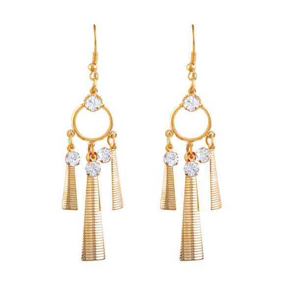 Asmitta Jewellery Gold Huggie Earring  -ED254
