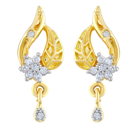 Asmitta Jewellery Gold  Earring Brass Drops Danglers  -ED311