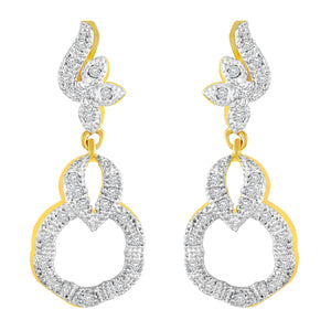 Asmitta Jewellery Gold  Earring Brass Drops Danglers  -ED320