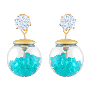 Asmitta Jewellery Gold Alloy Dangle Earring - ED337