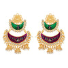 Asmitta Jewellery Gold Zinc Jhumki Earring  -ED452