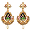 Asmitta Jewellery Gold  Earring Zinc Drops Danglers  -ED505