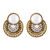 Asmitta Jewellery Gold Zinc Dangle Earring - ED553