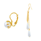 Asmitta Jewellery Gold Zinc Mismatch Earring - ED677