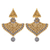 Asmitta Jewellery Grey Zinc Dangle Earring - ED691