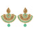 Asmitta Jewellery Pista Zinc Dangle Earring - ED696
