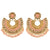 Asmitta Jewellery Peach Zinc Dangle Earring - ED697