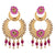 Asmitta Jewellery Pink Zinc Dangle Earring - ED699