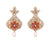Asmitta Jewellery Orange Zinc Dangle Earring - ED901