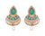 Asmitta Jewellery Green Zinc Dangle Earring - ED908
