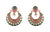 Asmitta Jewellery Multicolor Zinc Dangle Earring - ED922