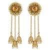 Asmitta Jewellery Gold  Jhumki Zinc Drops Danglers  -EJ524