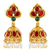 Asmitta Jewellery Gold Zinc Jhumki Earring - EJ571