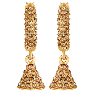 Asmitta Jewellery Brass Hoop Earring  -EJ654
