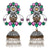 Asmitta Jewellery Multicolor Brass Jhumki Earring - EJ703