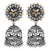 Asmitta Jewellery Silver Brass Jhumki Earring - EJ705