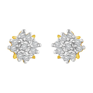 Asmitta Jewellery Gold Brass Stud Earring - ES276