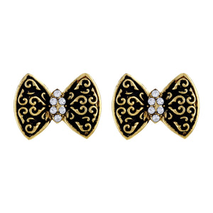 Asmitta Jewellery Gold  Stud Earring Zinc Stud Earring  -ES431