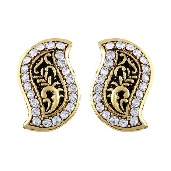 Asmitta Jewellery Gold  Stud Earring Zinc Stud Earring  -ES432