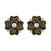 Asmitta Jewellery Gold Zinc Stud Earring - ES545