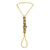 Asmitta Jewellery Zinc Gold- Hand Thong  -HP197