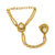 Asmitta Jewellery Zinc Gold- Hand Thong  -HP226