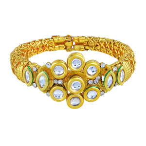 Asmitta Jewellery Zinc Gold- Kada  -K190