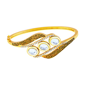 Asmitta Jewellery Brass Gold- Kada  -K202