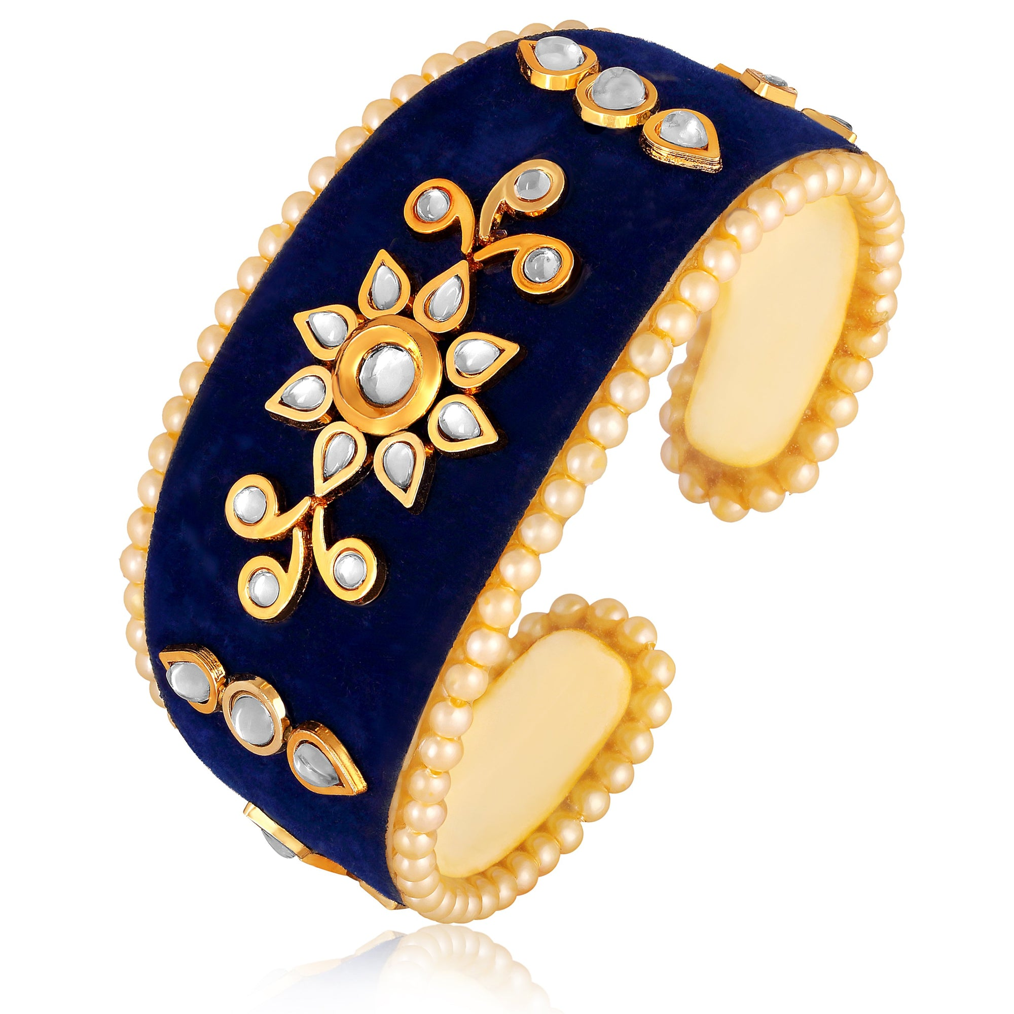Asmitta Jewellery Alloy Gold- Kada  -K340