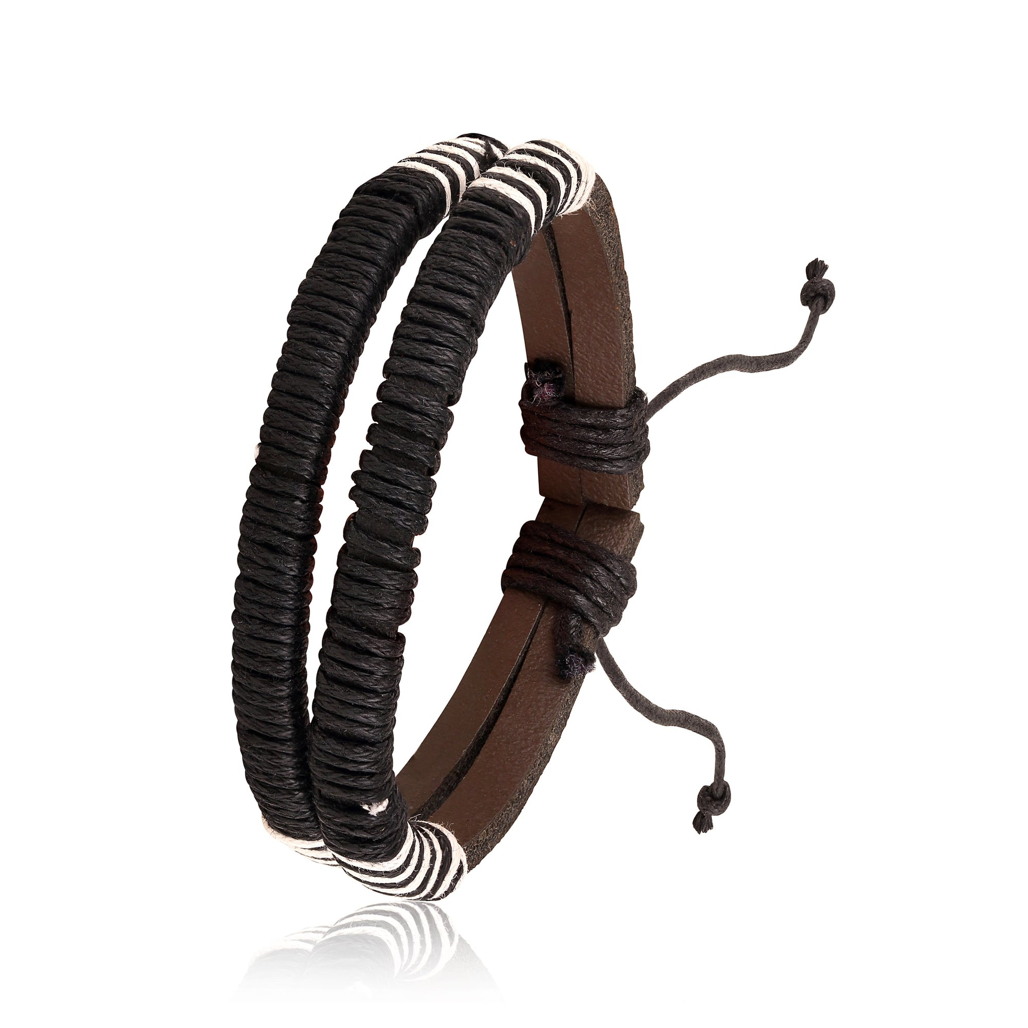 Asmitta Jewellery Leather Bracelet  -MBR300