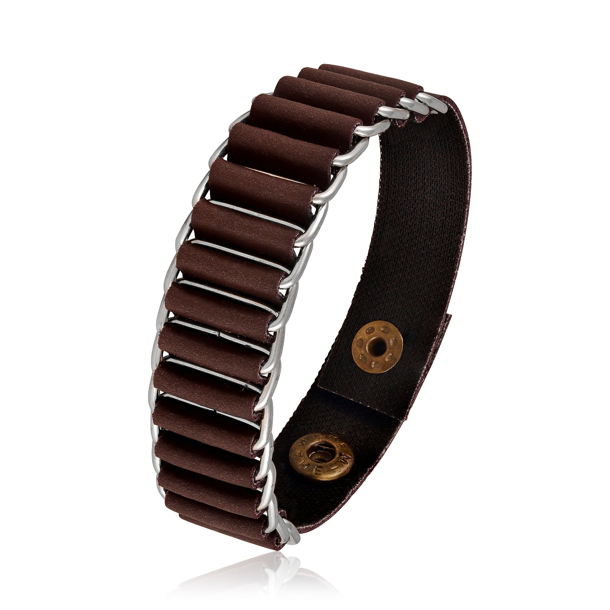Asmitta Jewellery Leather Bracelet  -MBR307
