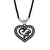 Asmitta Jewellery Pendant For Men Silver Zinc Locket  -MP216
