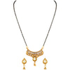 Asmitta Jewellery Zinc Mangalsutra Set (Gold) -MS133
