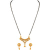 Asmitta Jewellery Zinc Mangalsutra Set (Gold) -MS135