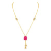 Asmitta Jewellery Gold Necklace Alloy Necklace  -N186J