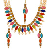 Asmitta Jewellery Zinc Jewel Set (Gold) -NM342