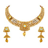 Asmitta Jewellery Zinc Jewel Set (Gold) -NS205