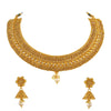 Asmitta Jewellery Copper Jewel Set (Gold) -NS241