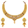 Asmitta Jewellery Zinc Jewel Set (Gold) -NS275