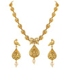 Asmitta Jewellery Zinc Jewel Set (Gold) -NS318