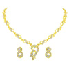 Asmitta Jewellery Zinc Jewel Set (Gold) -NS338