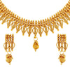 Asmitta Jewellery Copper Jewel Set (Gold) -NS385