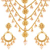 Asmitta Jewellery Brass Jewel Set (Gold) -NS387