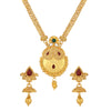 Asmitta Jewellery Zinc Jewel Set (Gold) -NS426