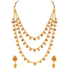 Asmitta Jewellery Copper Jewel Set (Gold) -NS491