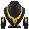 Asmitta Jewellery Brass Jewel Set (Gold) -NS584