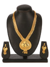 Asmitta Jewellery Brass Jewel Set (Gold) -NS602