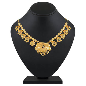Asmitta Jewellery Gold Alloy Necklace - NS732